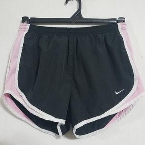Nike Womens Small Black Pink DriFit Running Shorts